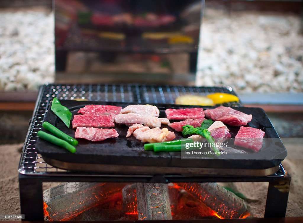 Yakiniku dinner : Stock Photo