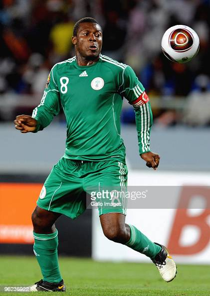 Yakubu Aiyegbeni of Nigeria during the Africa Cup of Nations Quarter Final match between Zambia and Nigeria from the Alto da Chela Stadium on January...