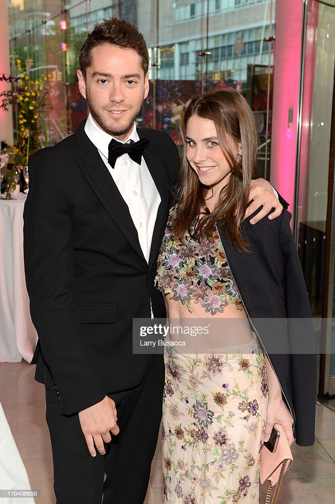 Yale Breslin and Ruthie Friedlander attend the 2013 Fragrance Foundation Awards at Alice Tully Hall at Lincoln Center on June 12, 2013 in New York City.