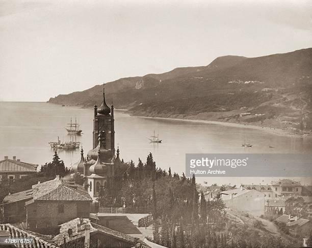 Yalta in the Crimea southwestern Ukraine 1869