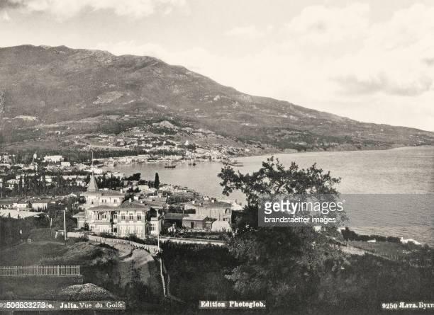 Yalta on the southern coast of the peninsula Crimea at the Black Sea Ukraine Photograph About 1895