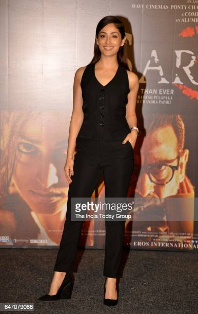 Yami Gautam during the trailer launch of film 'Sarkar 3' in Mumbai