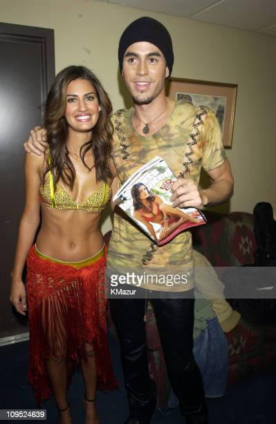 Yamila DiazRahi Sports Illustrated's Swimsuit 2002 Cover Supermodel and Enrique Iglesias