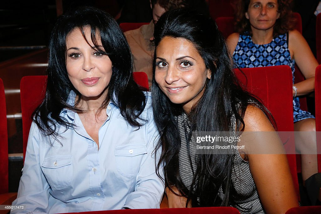 <a gi-track='captionPersonalityLinkClicked' href=/galleries/search?phrase=Yamina+Benguigui&family=editorial&specificpeople=615509 ng-click='$event.stopPropagation()'>Yamina Benguigui</a> and daughter Liza attend the 'Breves de Comptoir' : movie premiere at Theatre du Rond Point on September 8, 2014 in Paris, France.