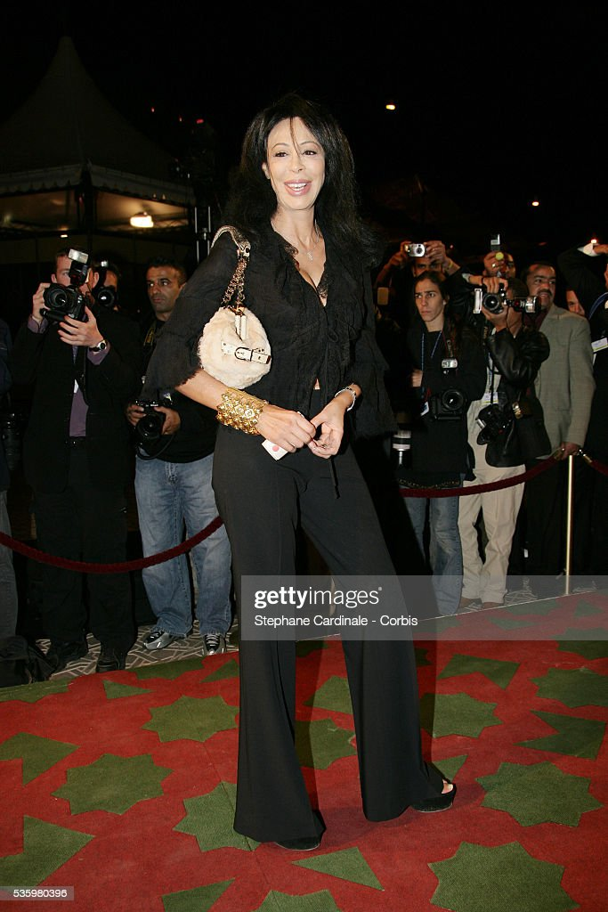 Yamina Benguigui arrives at the opening ceremony of the 2005 Marrakech Film Festival.