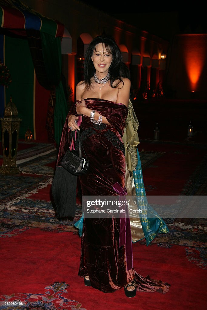 Yamina Benguigui arrives at the opening dinner of the 2005 Marrakech Film Festival.