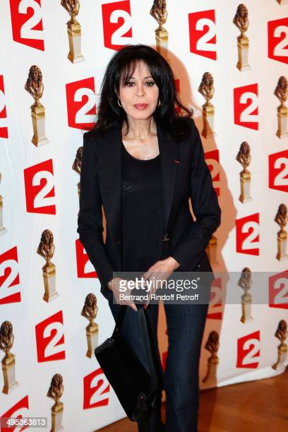 Yamina Benguigui attends the 26th Molieres Awards Ceremony at Folies Bergere on June 2 2014 in Paris France