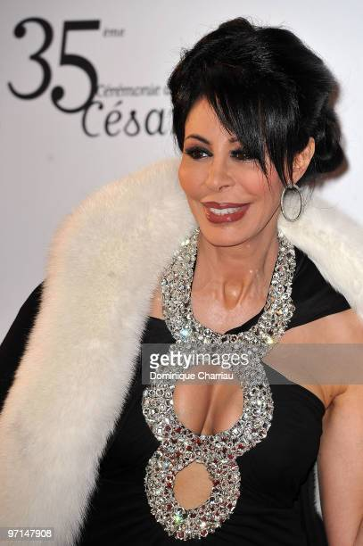 Yamina Benguigui attends the 35th Cesar Film Awards at Theatre du Chatelet on February 27 2010 in Paris France