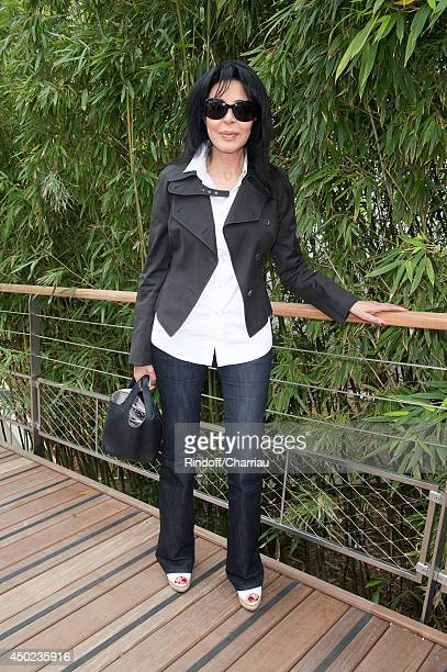 Yamina Benguigui attends the Roland Garros French Tennis Open 2014 Day 14 at Roland Garros on June 7 2014 in Paris France