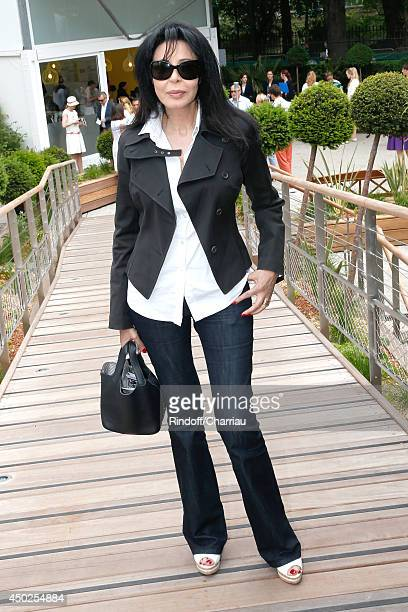 Yamina Benguigui attends the Roland Garros French Tennis Open 2014 Day 14 on June 7 2014 in Paris France
