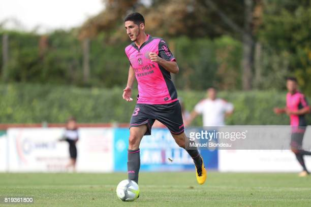 Yan Bodiger of Toulouse during the friendly match between Toulouse FC and Deportivo Alaves on July 19 2017 in Saint Jean de Luz France