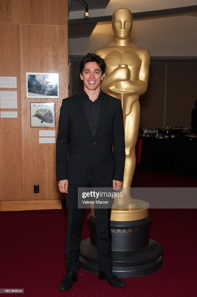 Yan England attends The Academy Of Motion Picture Arts And Sciences Presents Oscar Celebrates: Shorts at AMPAS Samuel Goldwyn Theater on February 19, 2013 in Beverly Hills, California.