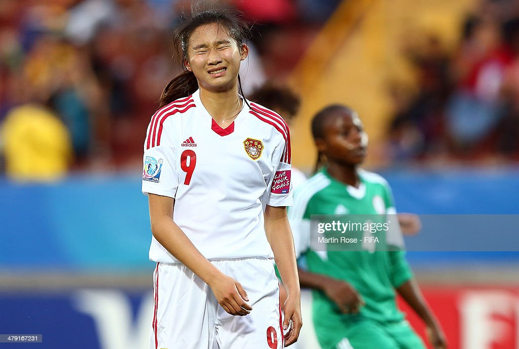 China PR v Nigeria: Group D - FIFA U-17 Women's World Cup Costa Rica 2014