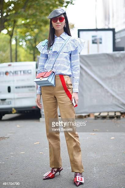 f20fdfe1bbda Street Style - Paris Fashion Week - Womenswear Spring Summer 2016   Day Nine