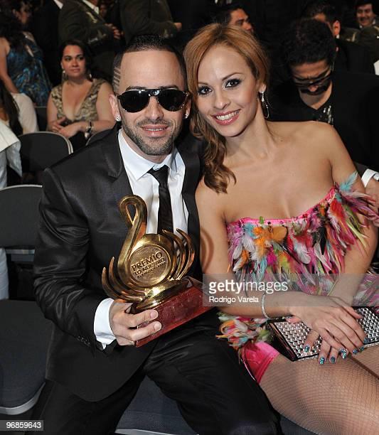 Yandel at Univisions 2010 Premio Lo Nuestro a La Musica Latina Awards at American Airlines Arena on February 18 2010 in Miami Florida