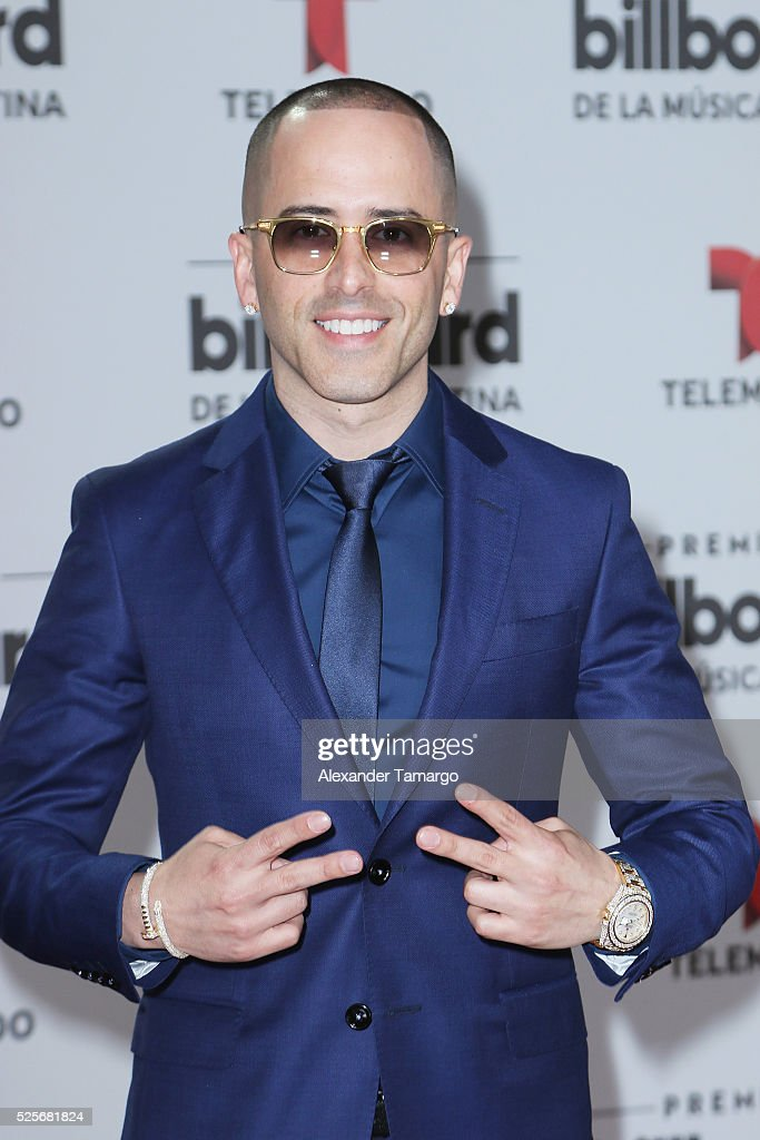 Yandel attends the Billboard Latin Music Awards at Bank United Center on April 28, 2016 in Miami, Florida.