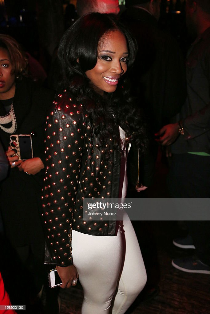 Yandy Smith attends the 'Love & Hip Hop' Season 3 Premiere Party at Kiss & Fly on January 3, 2013 in New York City.