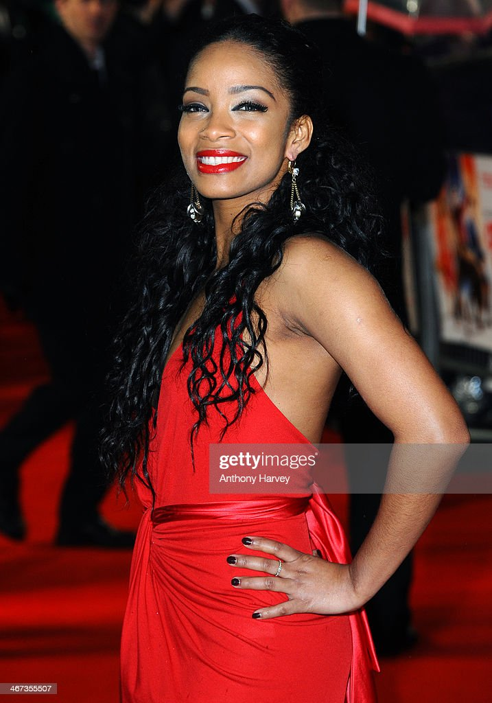 Yanet Fuentes attends the World Premiere of 'Cuban Fury' at Vue Leicester Square on February 6, 2014 in London, England.