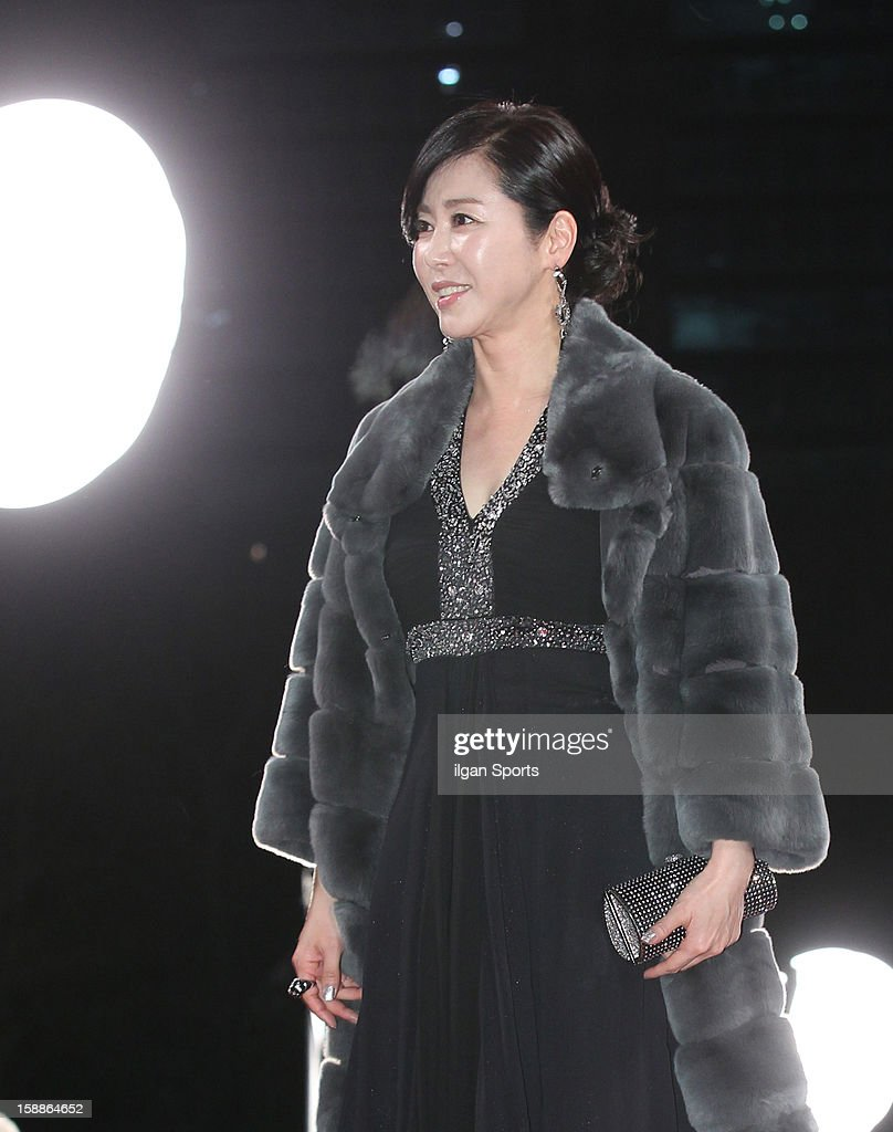 Yang Jung-A attends the 2012 KBS Drama Awards at KBS Hall on December 31, 2012 in Seoul, South Korea.