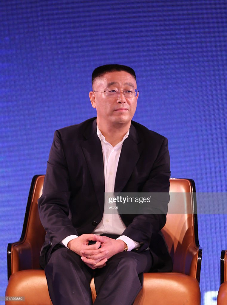 Yang Keng, chairman of Sichuan BRC Group, looks on during the world's first 3D blood vessel bio-printer launch on October 25, 2015 in Chengdu, China. Sichuan Revotek Co., Ltd, a subsidiary of Sichuan BRC Group, is a biotechnological company and it launched the world's first 3D blood vessel bio-printer on Sunday.