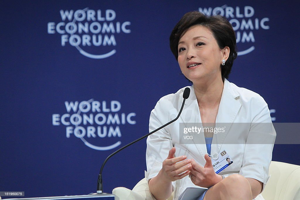 Yang Lan, Chairperson of Sun Media Group, attends the interactive session 'Women as China's Way Forward' during the 2012 Tianjin Summer Davos at Meijiang Convention and Exhibition Center on September 13, 2012 in Tianjin, China. World Economic Forum 2012 Tianjin Summer Davos will be held from September 11 to 13, with the theme of 'Creating the Future Economy'.