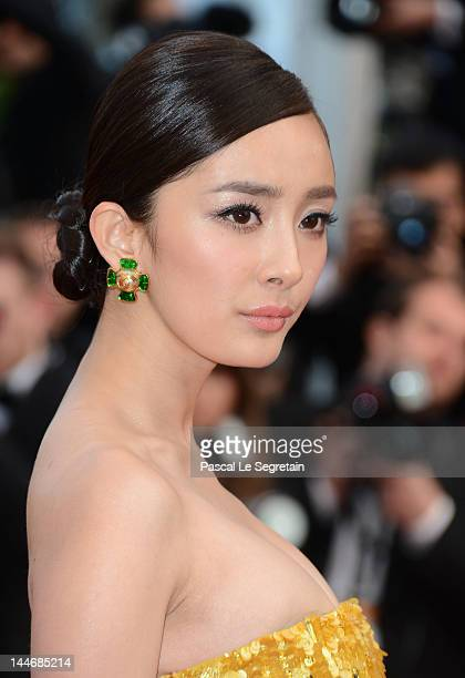 Yang Mi attend the 'De Rouille et D'os' Premiere during the 65th Annual Cannes Film Festival at Palais des Festivals on May 17 2012 in Cannes France