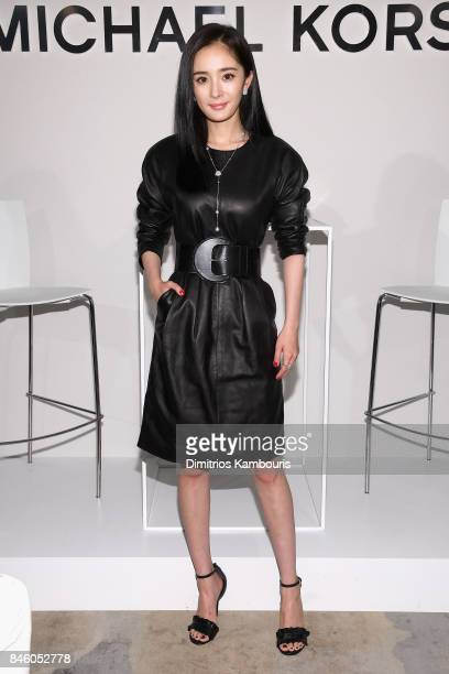 Yang Mi attends the annoucement of Yang Mi as Brand Ambassador for Michael Kors at Park Hyatt Hotel New York on September 12 2017 in New York City