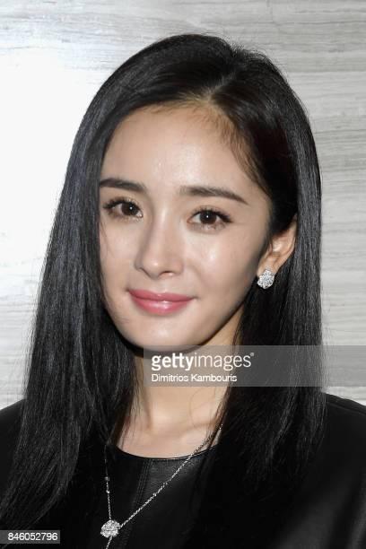 Yang Mi attends the annoucement of Yang Mi as Brand Ambassador for Michael Kors at Park Hyatt Hotel New York on September 12 2017 in New York City