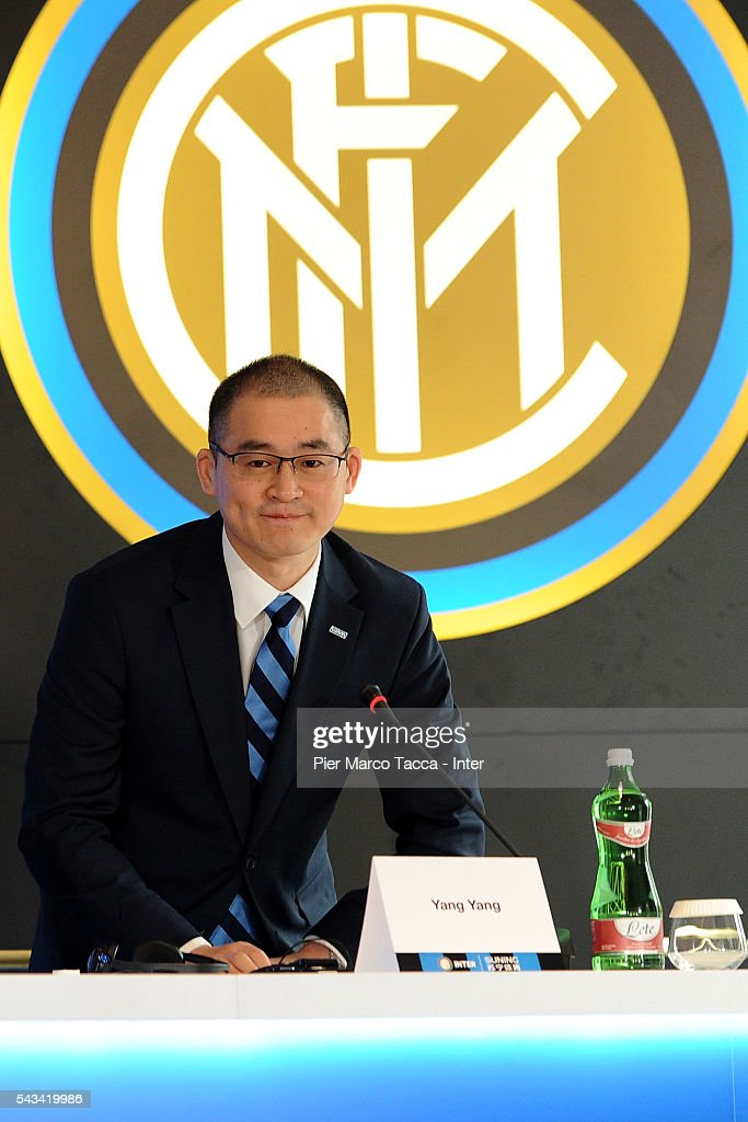 Yang Yang new CEO of FC Internazionale, attends the FC Internazionale Shareholder's Meeting on June 28, 2016 in Milan, Italy.