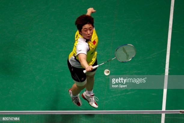 Yang YU Double Femme Finales des Championnats du Monde de Badminton 2010 Stade Pierre de Coubertin Paris
