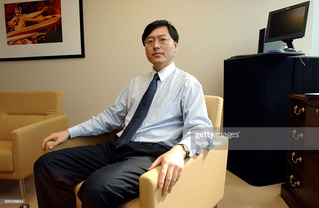 Yang Yuanqing Chairman of the Board of Lenovo International photographed at Lenovo's headquarters in Purchase New York