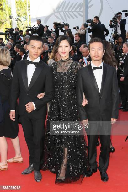 Yang Zishan attends the '120 Battements Par Minutes ' screening during the 70th annual Cannes Film Festival at Palais des Festivals on May 20 2017 in...