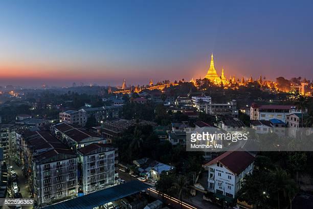 Yangon City Myanmar