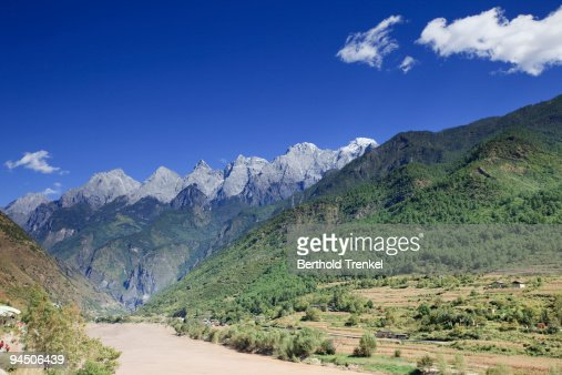 Yangtze river gorge : Stock Photo