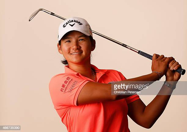 Yani Tseng of Chinese Taipei poses for a portrait ahead of the LPGA Founders Cup at Wildfire Golf Club on March 18 2015 in Phoenix Arizona