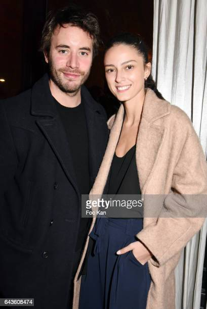 Yaniss Lespert and Betina Orsetti attend FDF Magazine Launch Party at Hotel Christian Dior on February 21 2017 in Paris France