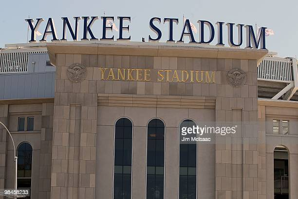 Yankee Stadium is seen prior the New York Yankees hosting the Los Angeles Angels of Anaheim on April 14 2010 in the Bronx borough of New York City