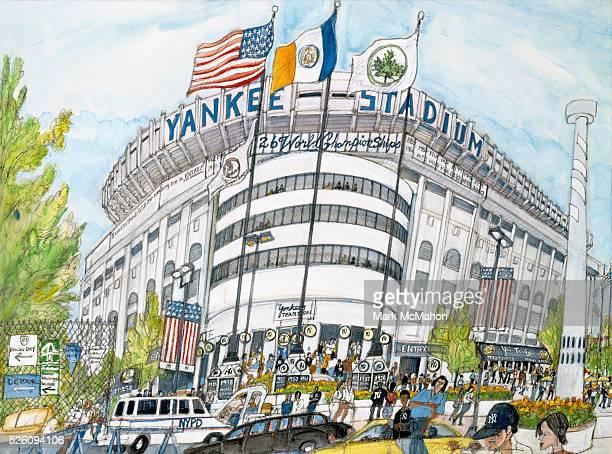 Yankee Stadium New York by Mark McMahon