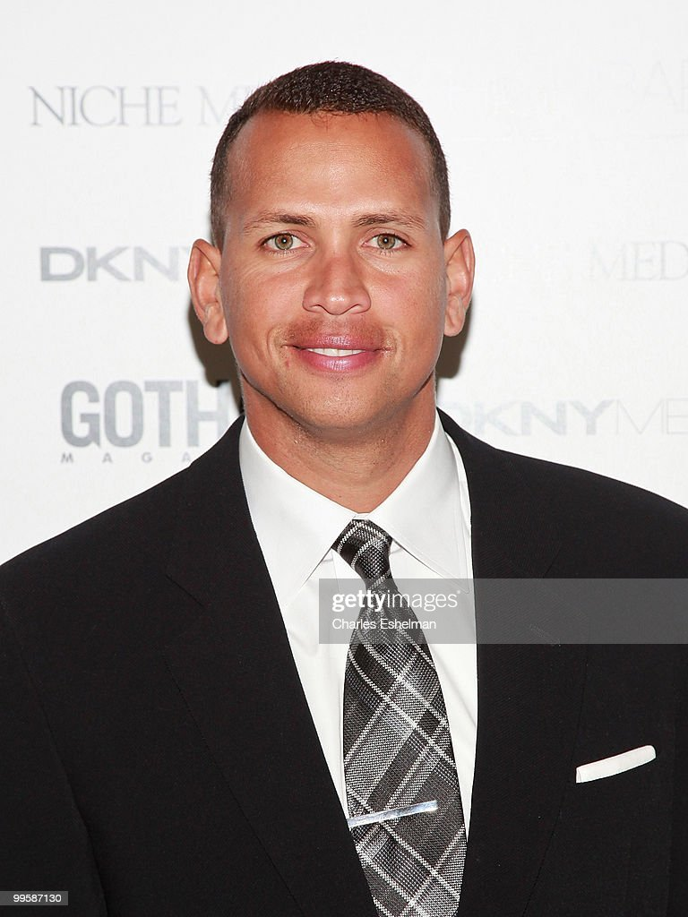 NY Yankees third baseman Alex 'A-Rod' Rodriguez attends the <a gi-track='captionPersonalityLinkClicked' href=/galleries/search?phrase=Alex+Rodriguez+-+Baseball+Player&family=editorial&specificpeople=167080 ng-click='$event.stopPropagation()'>Alex Rodriguez</a> cover party hosted by Jason Binn & Niche Media's Gotham Magazine at Highbar on May 15, 2010 in New York City.