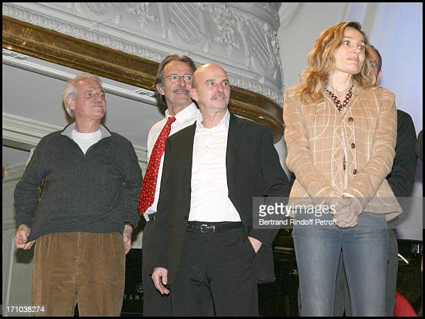 Yann Arthus Bertrand and Ged Marlon at Gala Evening At Salle Gaveau In Association With Le Rire Pour La Planete By Marc Jolivet