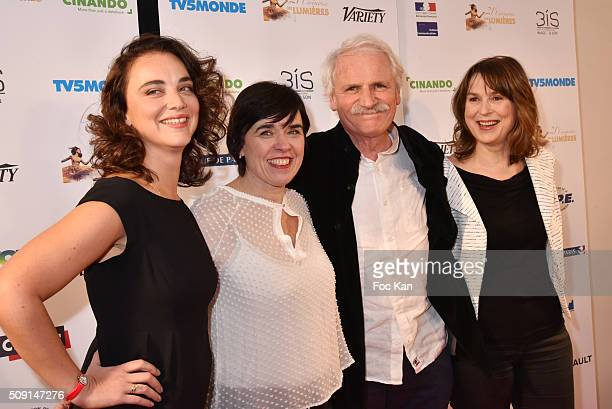Yann Arthus Bertrand and guests attend 'Les Lumieres 2016' Arrivals At Espace Pierre Cardin on February 8 2016 in Paris France