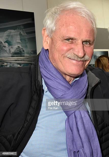 Yann Arthus Bertrand attends the 'Artica Vanishing'Êat Galerie Yann Arthus Bertrand on December 3 2015 in Paris France