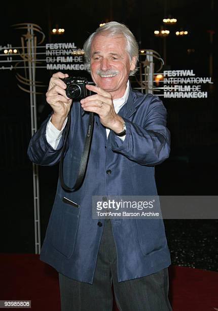 Yann Arthus Bertrand attends the John Rabe premiere at the 9th Marrakesh Film Festival at the Palais des Congres on December 4 2009 in Marrakech...