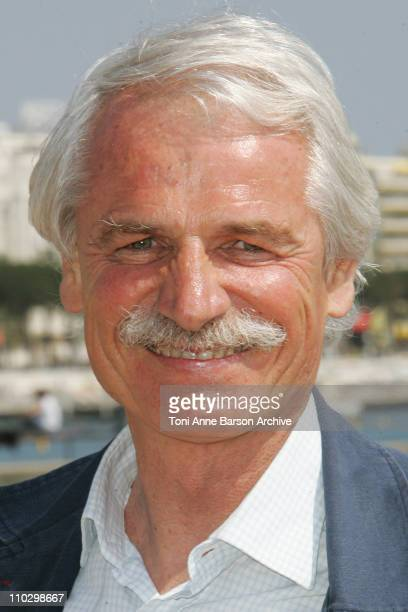 Yann ArthusBertrand during MIPTV 2007 'Green' Photocall with Yann ArthusBertrand at Majestic Pier in Cannes France