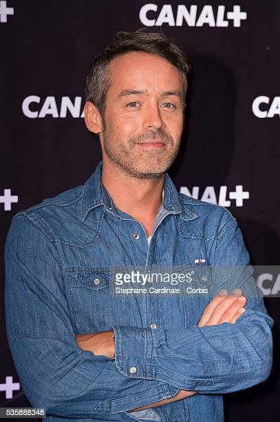 Yann Barthes attends the Canal Press Conference in Paris