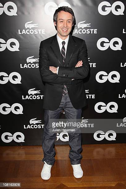 Yann Barthes attends the 'GQ Man Of The Year 2010' party at ShangriLa Hotel Paris on January 19 2011 in Paris France