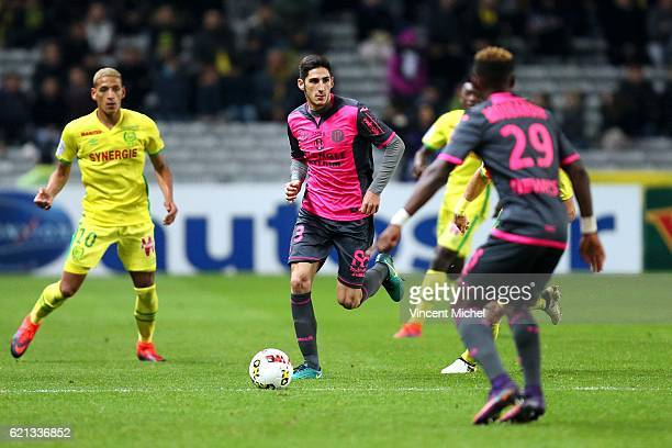Yann Bodiger of Toulouse during the Ligue 1 match between Fc Nantes and Toulouse Fc at Stade de la Beaujoire on November 5 2016 in Nantes France