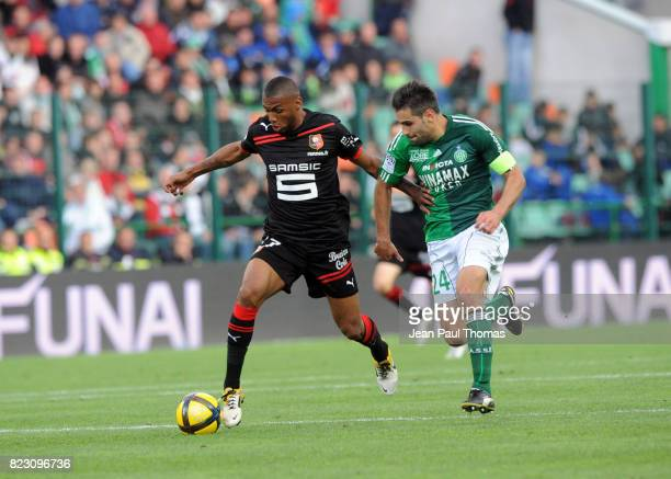 Yann M VILA / Loic PERRIN Saint Etienne / Rennes 36eme journee de Ligue 1