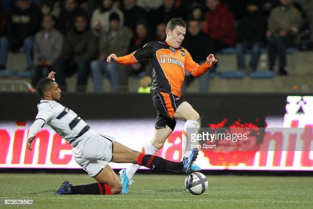 Yann MVila / Kevin Gameiro Lorient / Rennes 15eme journee de Ligue 1