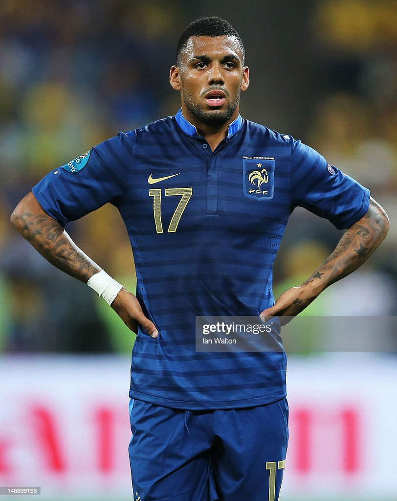 <a gi-track='captionPersonalityLinkClicked' href=/galleries/search?phrase=Yann+M%27Vila&family=editorial&specificpeople=6130765 ng-click='$event.stopPropagation()'>Yann M'Vila</a> of France reacts during the UEFA EURO 2012 group D match between Ukraine and France at Donbass Arena on June 15, 2012 in Donetsk, Ukraine.